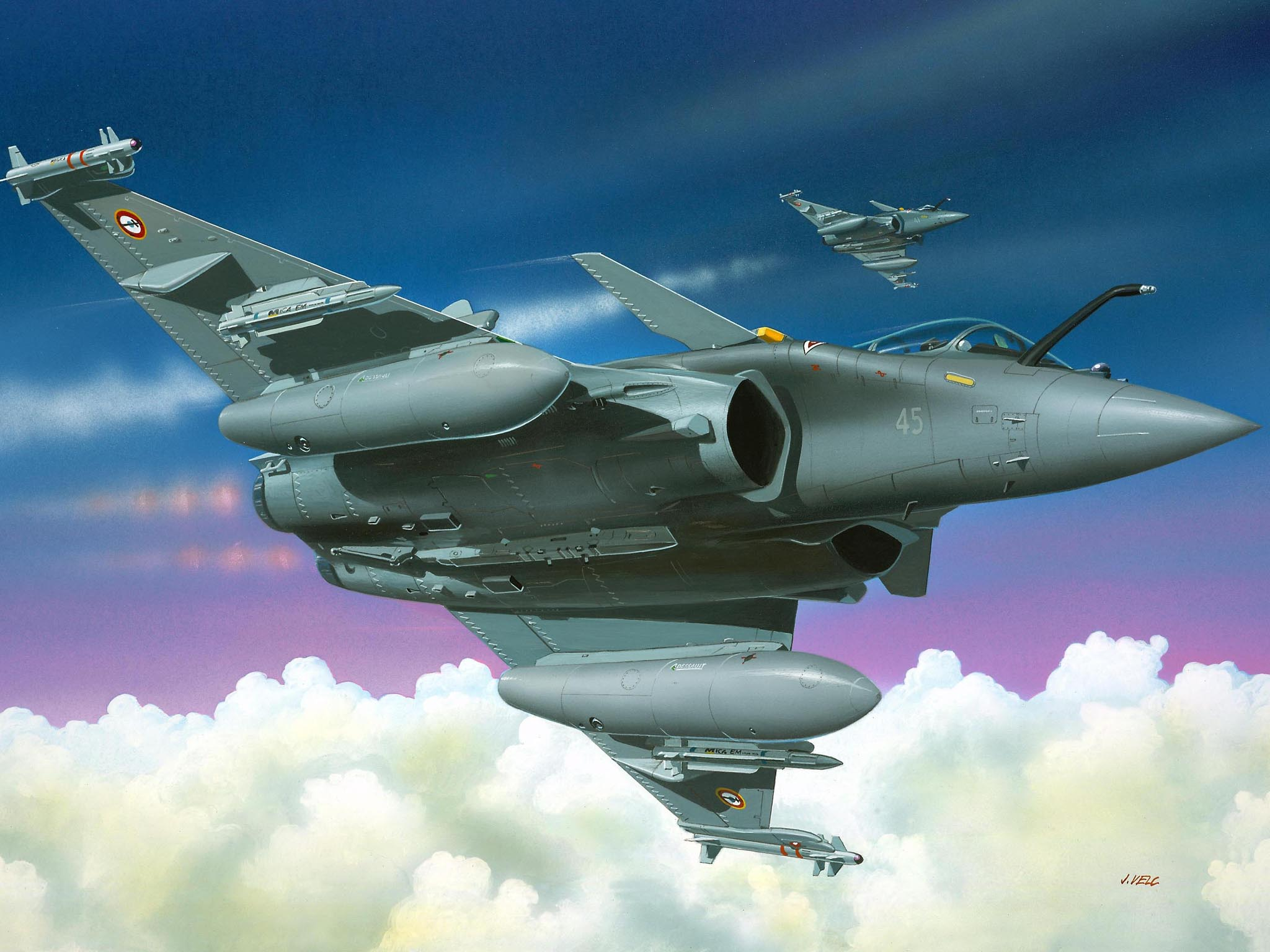 Revell   Rafale M Build