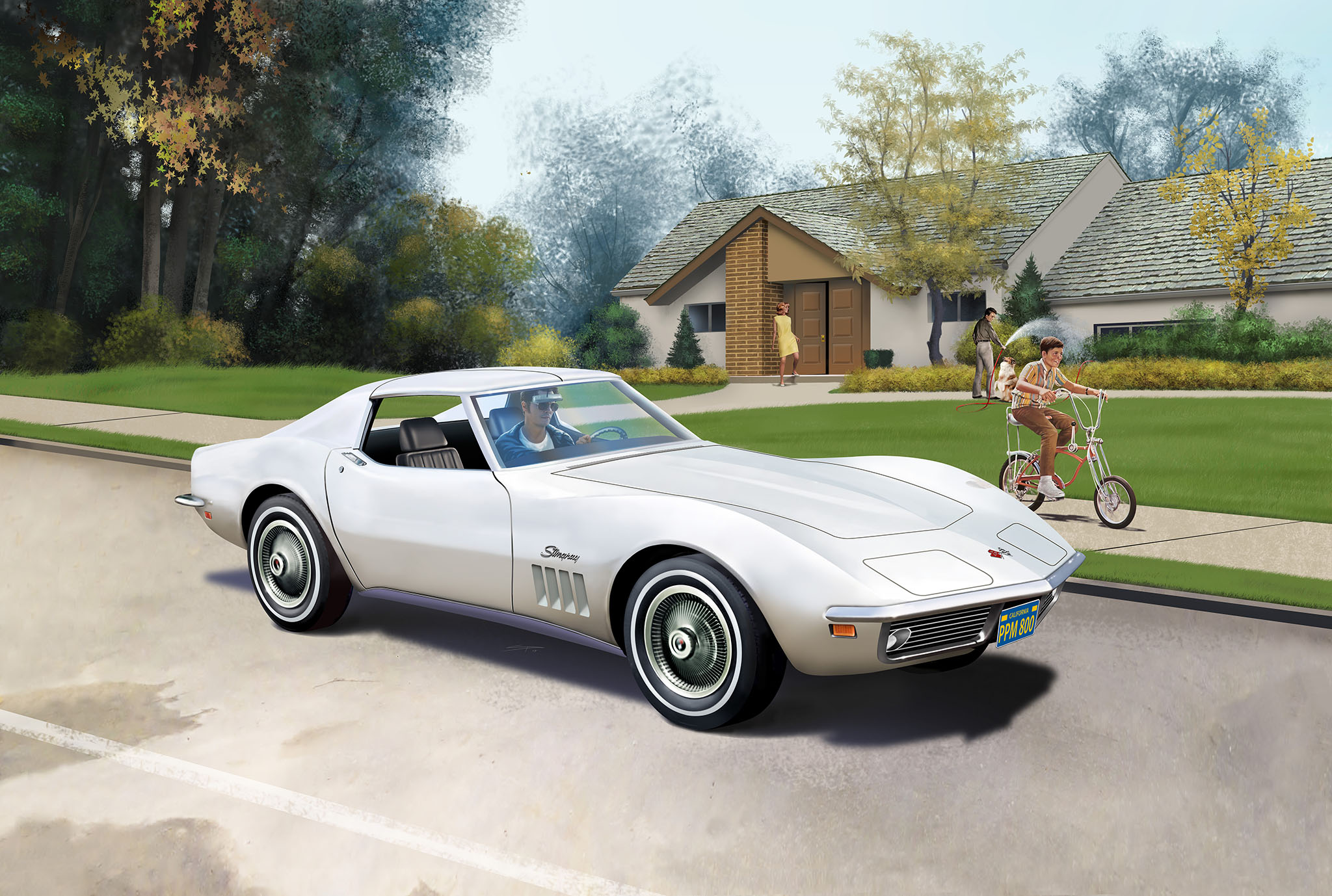 revell shop model set corvette c3 revell shop. Black Bedroom Furniture Sets. Home Design Ideas